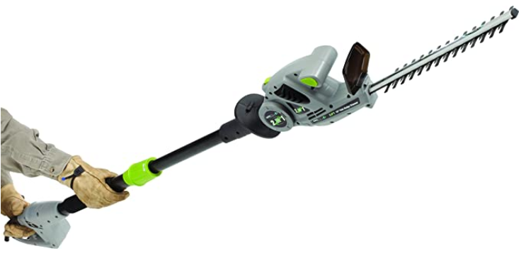 Earthwise 18 inch 2.8 Amp Corded-Electric 2 in 1 Pole Hedge Trimmer