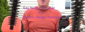 You should know Gas vs electric hedge trimmer